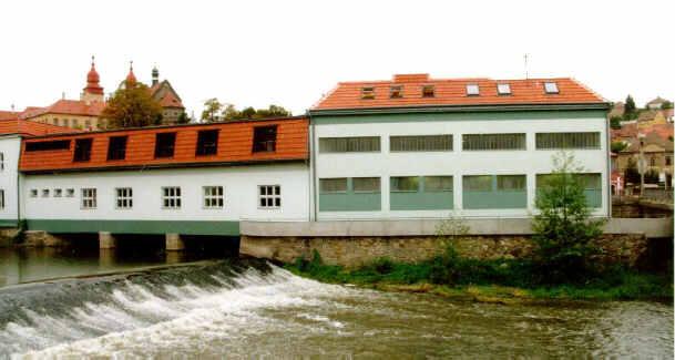 Rekonstrukce mlýna na Finanční úřad