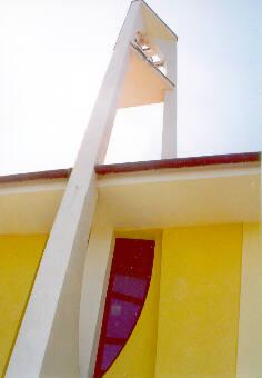 Detail zvonice