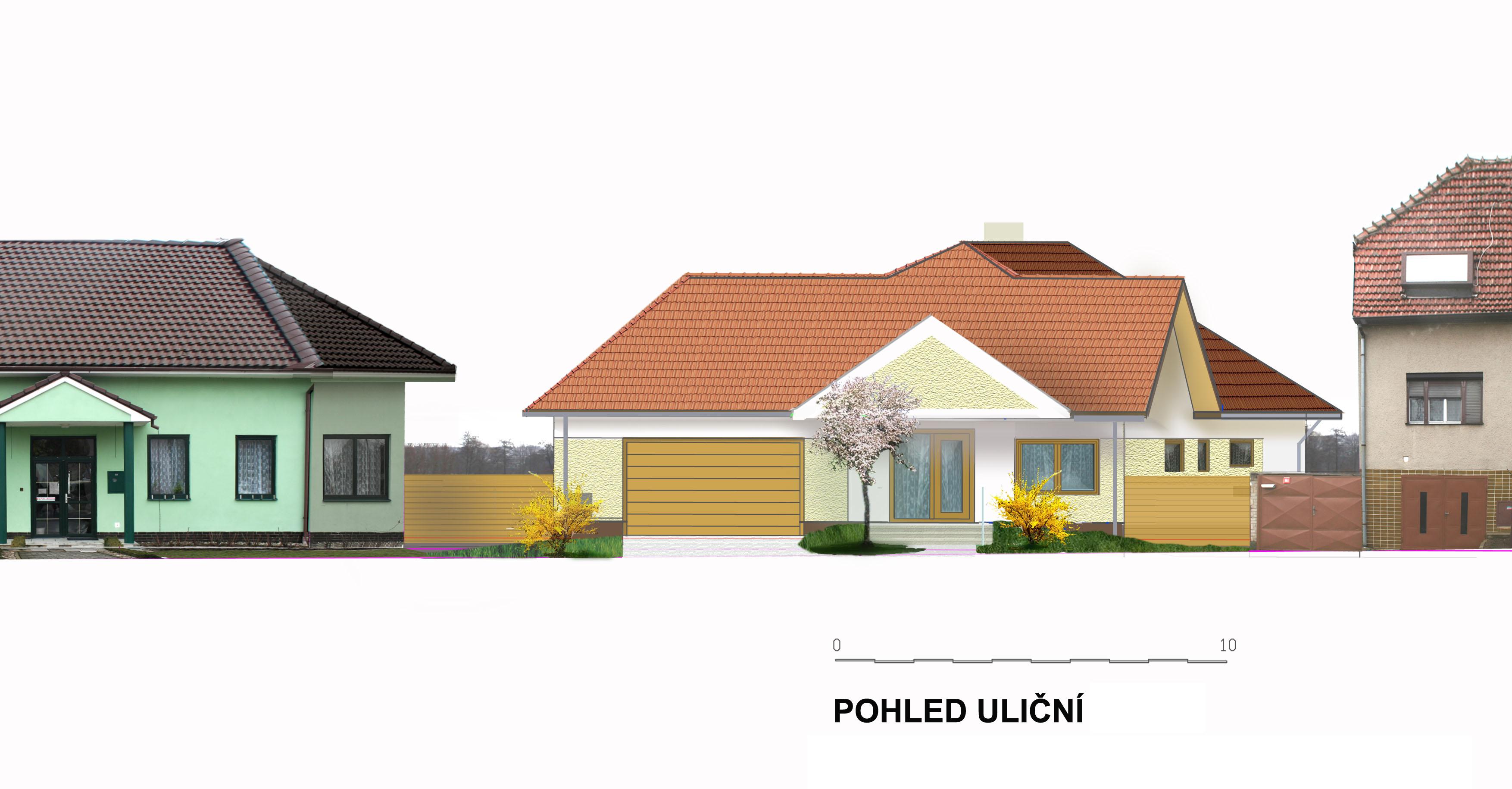 návrh rodinného domu
