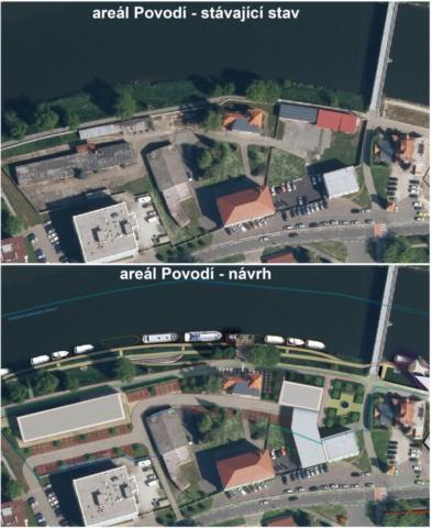 přístav Povodí Moravy v Uherském Hradišti