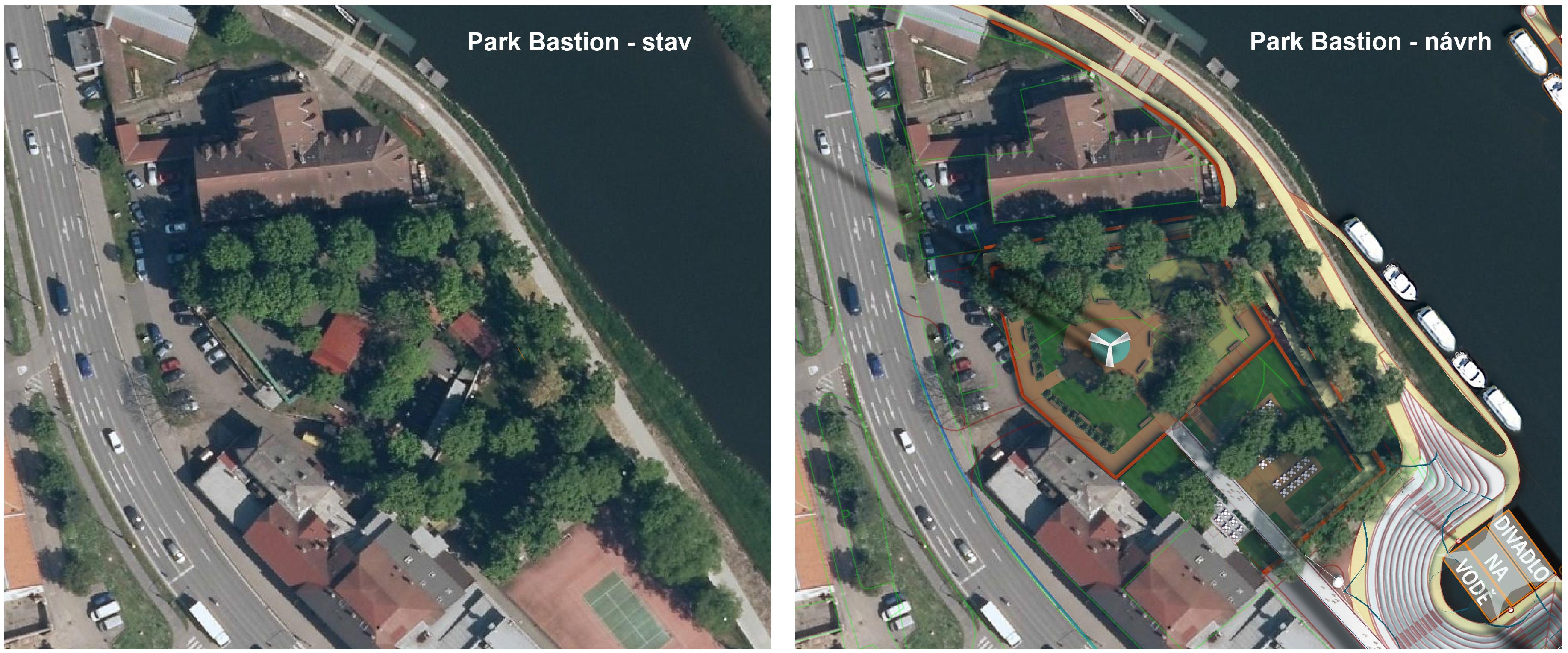 Park Bastion Uherské Hradiště